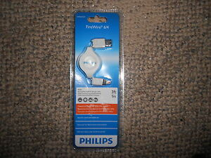 PHILIPS RETRACTABLE FIREWIRE 6/4  3FT CABLE