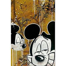 Disney Fathead Slick Bloc 28 Mickey Mouse Reusable Safe Wall Graphic Stickers