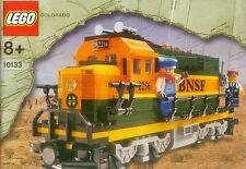 Lego Train #10133 BNSF GP-38 Locomotive New Sealed