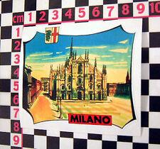 Milan Italy Holiday Sticker Alfa Romeo Junior Giulietta GTV Alfetta Alfasud 33
