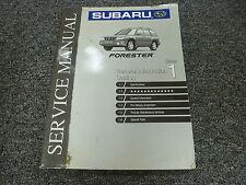 1999 Subaru Forester Section 1 General Information Shop Service Repair Manual