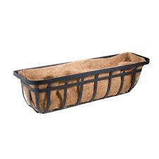 New listing Panacea 88558 Flat Iron Window and Deck Planter Black 36-Inch Baskets Pots, Fs