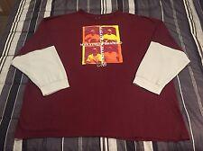 Vintage 90s Makaveli Tupac Shakur Long Sleeve Hip Hop Rap Shirt - Men's 5XL