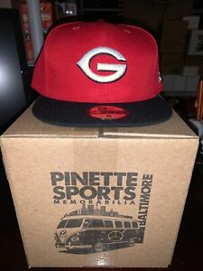 Greeneville Reds MiLB New Era Road 59Fifty Cap Hat Mens Size 8 Cincinnati