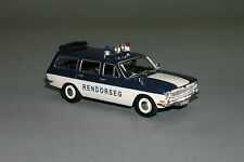 RARE !!! Gaz Volga 24-02 Rendorseg Rendőrség Hungary Police Custom Made 1/43