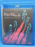 When They Cry Complete Series Season 1 2 3 Collection NEW Anime Bluray Higurashi