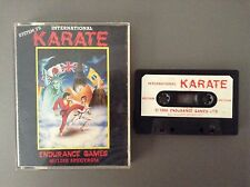 International Karate por resistencia-ZX Spectrum Cassette