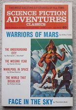 SCIENCE FICTION ADVENTURES March 1974 The Missing Year by Eando Binder
