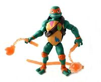 Michelangelo Rise Of The TMNT Ninja Turtles Action Figure 2018 Playmates Mikey