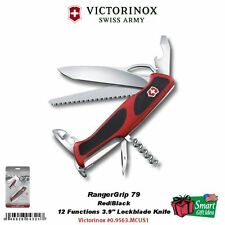 Victorinox Swiss Army RangerGrip 79 Hunter, Red/Black, Blister #0.9563.MCUS1
