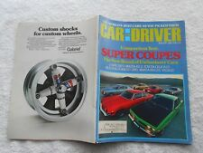 CAR AND DRIVER  Magazine-MAY,1974-SUPER COUPES-COMPARISON TEST: