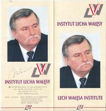 Polish President Lech Walesa Signed Institute Circular