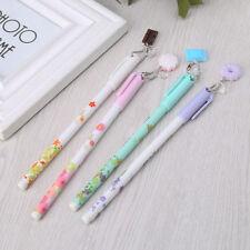 Kawaii Biscuit Pendant Gel Ink 0.38mm Writing Pen For School Supplies Stationery