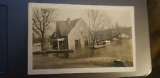 ANTIQUE RPPC FALMOUTH KY 1909 FLOOD PHOTO POSTCARD AZO UNPOSTED