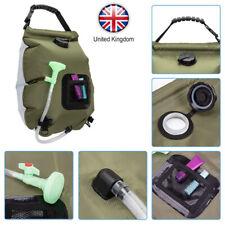 UK Solar Shower Bag reg 5 gallons/20L Solar Heating Premium Camping Shower