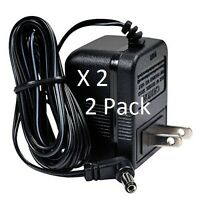 MFJ-1312D AC Adapter, 12 V DC, works with many MFJ products GJE Brand 2 PACK!