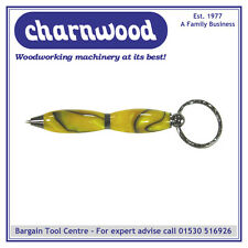 Charnwood penturning pen7mkgm de 7mm Mini porte-clés stylo twist-Kit métal gun