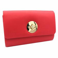 8c8763576f Borsetta donna pochette da sera clutch in similpelle Michelle moon hl3136  rosso