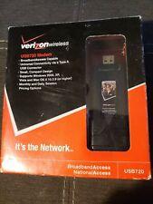 USB720 Verizon NO CONTRACT Mobile Broadband USB Stick Modem