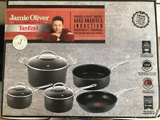 Tefal Jamie Oliver Premium Hard Anodised Induction 5 Piece Cookset