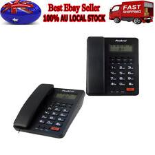 Corded Phone Big Button Landline Caller ID Desktop Home Telephone Desk Hotel AU