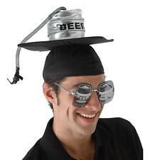 Beer Keg Graduation Cap Great Novelty Party Hat OR 4 Halloween Costume U Name It