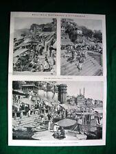 Nel 1922 India Gange a Benares Gorizia arch. De Grada Col di Lana Monte Nero