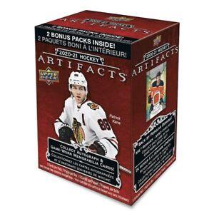 2020/21 Upper Deck Artifacts Hockey Blaster Box