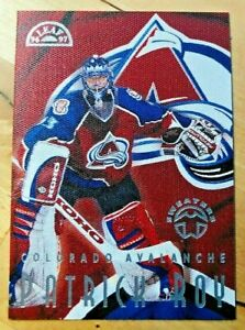 Patrick Roy Leaf 96/97 Sweaters    No. 2 of 15 of the set  / 2251 of 5000
