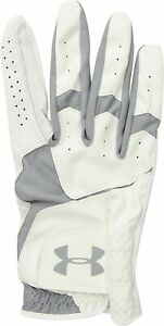 New Under Armour CoolSwitch Golf Glove Right Hand White Mens Medium Large