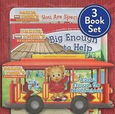 Daniel Tiger Shrink-Wrapped Pack #2: You Are Special, Daniel Tiger!; A Ride Through the Neighborhood; Big Enough to Help by Various (Board book, 2016)