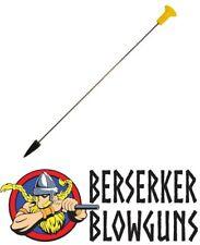 25 - .40c Pro-Length Broadhead Blowgun Darts Made by Berserker Blowguns MADE IN