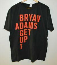 BRYAN ADAMS GET UP Tour Dates T-Shirt Mens XL