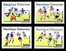GABON 1990 MICHEL Mi A/D 1063 A1063 - D1063 SOCCER WORLD CUP FOOTBALL ITALY MNH