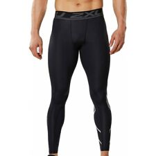 2XU Full Lenght Accelerate Compression Tights Black/Silver. SIZE L