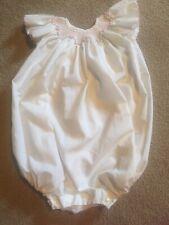 Vintage Isabel Garreton Smocked Toddler Bubble Suit 2T