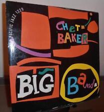 "Chet Baker  """"Big Band""  Vinyl VG  Sleeve G  Pacific Jazz 1229"