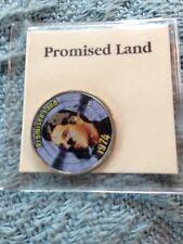 "NOS ELVIS PRESLEY MYSTIC STAMP COLORIZED QUARTER GREATEST HITS ""PROMISED LAND"""