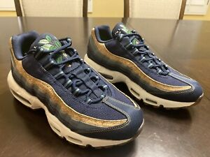 New Nike Air Max 95 SE Cork Blue Sneaker Shoes Size US 8.5