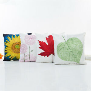 Cute Cushion Cover Pillow Case Summer Spring Living Room Decor Pillow Cover JJ
