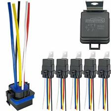 Irhapsody 5 Pack 80/60 Amp Waterproof Relay and Harness