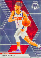 Devin Booker 2019-20 Panini MOSAIC BASKETBALL Chrome Base Card #128 Phoenix Suns
