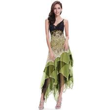 Asymmetric Dresses Prom Long for Women