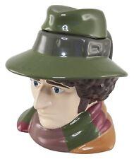 Doctor Who Fourth Doctor Tom Baker Ceramic 3D Toby Jug Lidded Mug