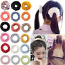 Women Fluffy Scrunchies Elastic Hair Ring Rope Band Tie Ponytail Holder