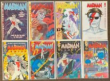 8 Madman #1,2,14,15 Comics #1,3,4,11 Dark Horse Comics Image Mike Allred lot Nm