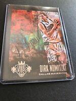 2013-14 Court Kings #47 Dirk Nowitzki Dallas Mavericks HOT Card
