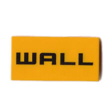 New Lego - Tiles - Decorated - Wall-E Wall Pattern 2 x 4 21303