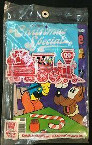 WHITMAN DISNEY CHRISTMAS COMICS 3 PACK 1970'S  HARD TO FIND, RARE!
