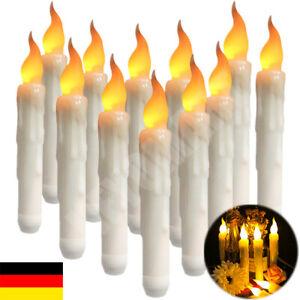 *Flameless* Flackern Batterie LED Weihnachtskerzen Deko Lichterkette Kerzenlicht